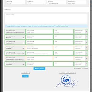 Software para empresas de control de plagas y sanidad ambiental