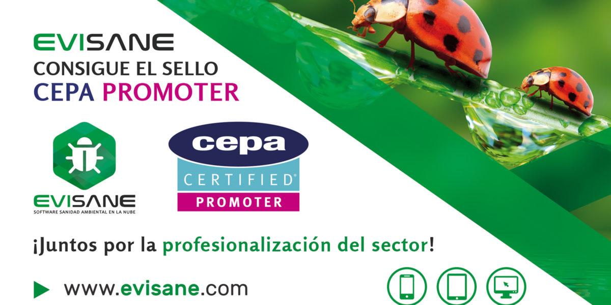 ¡Conseguimos el sello CEPA PROMOTER! Cumpliendo norma EN 16636